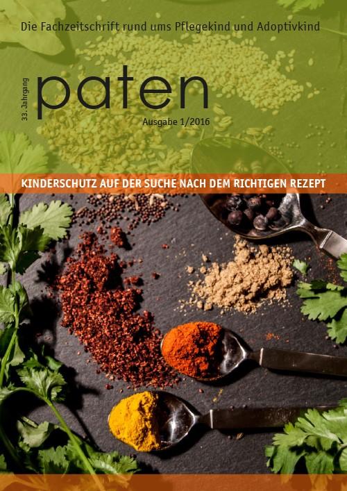 Editorial zum paten 1/2016
