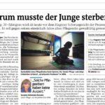 Warum musste der Junge sterben? - Susanne Schumann-Kessner - Westfalenpost 02.08.2019