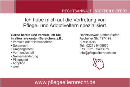 Anzeige RA Steffen Siefert