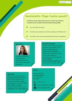 Forschungsprojekt: Alltag und Übergänge in der Familiären Bereitschaftsbetreuung (FBB)